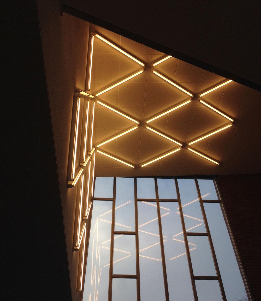 Lichtinstallation Design: Mia Kepenek