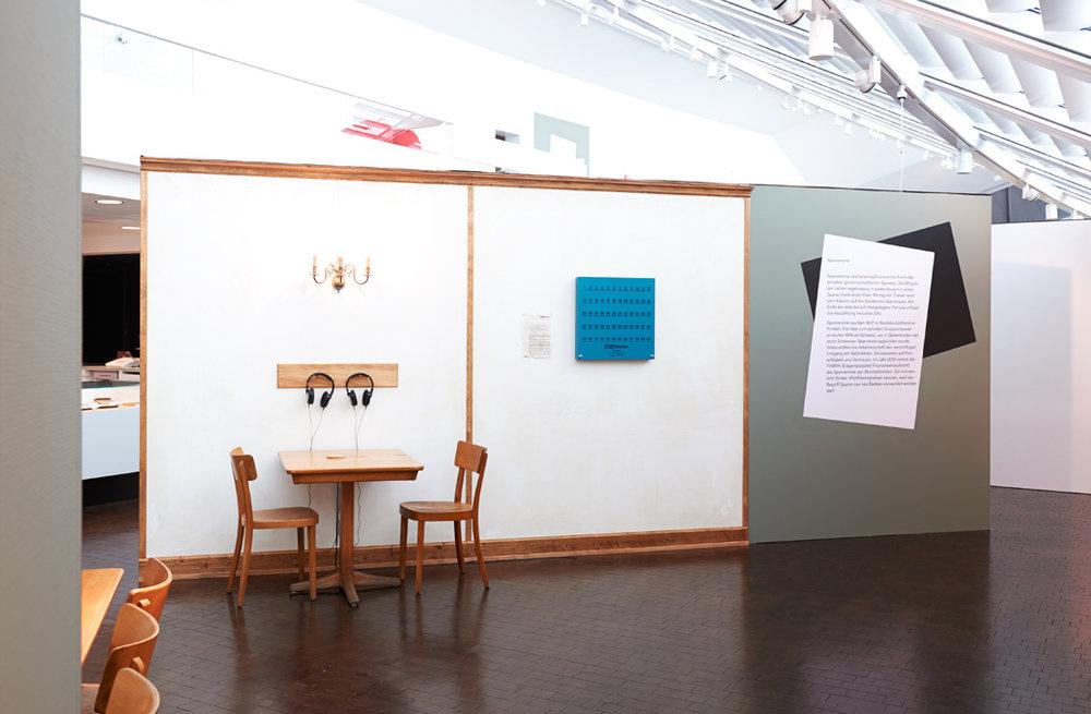 Ausstellungsgestaltung, Swiss Design, Vögele Kultur Zentrum