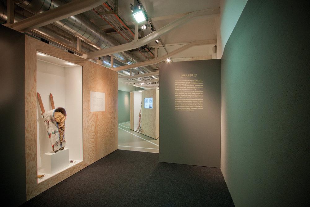 Ausstellungsgestaltung, Detail