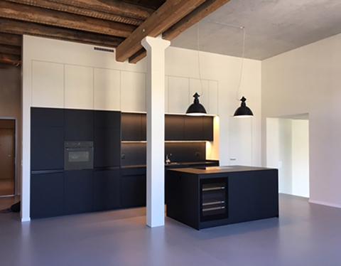 Loft Spinnerei, Küche
