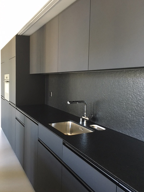 Loft Spinnerei, Küche, Detailansicht