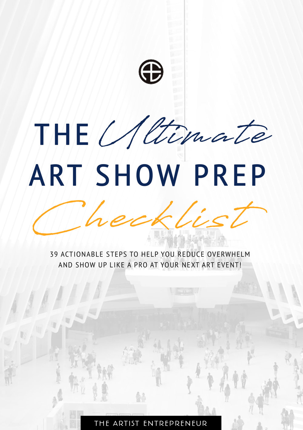 The ultimate art show prep checklist_the artist entrepreneur_catherine orer