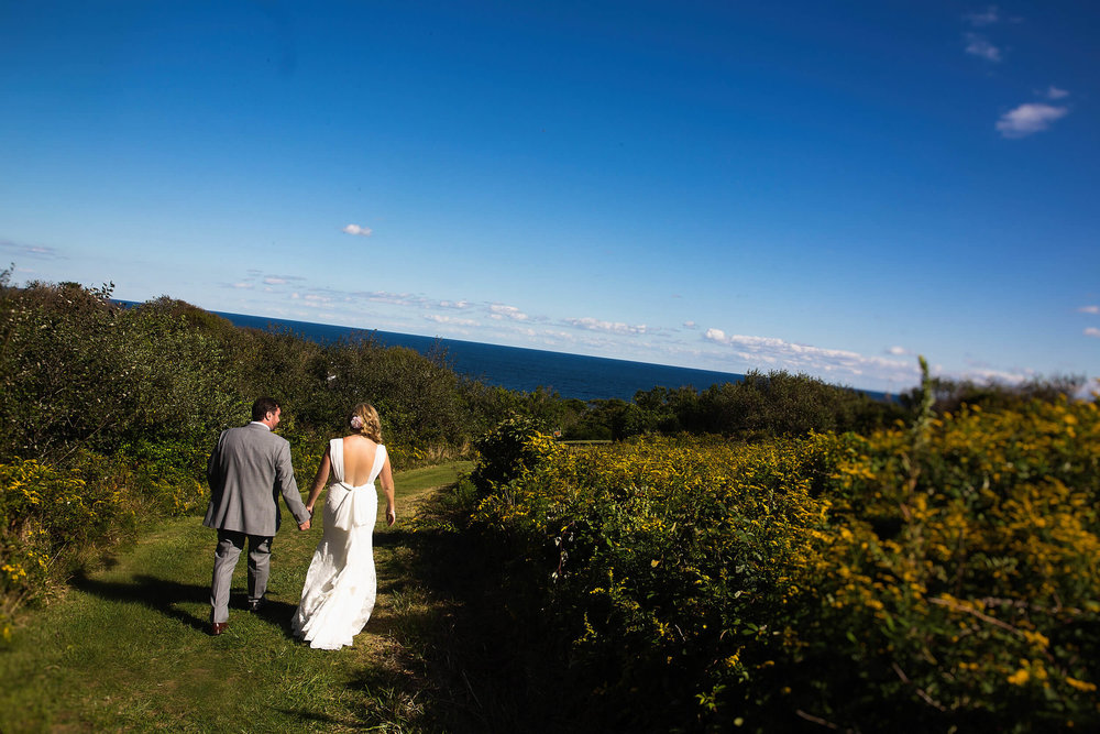 Wedding at The Spring House on Block Island, Rhode Island -
