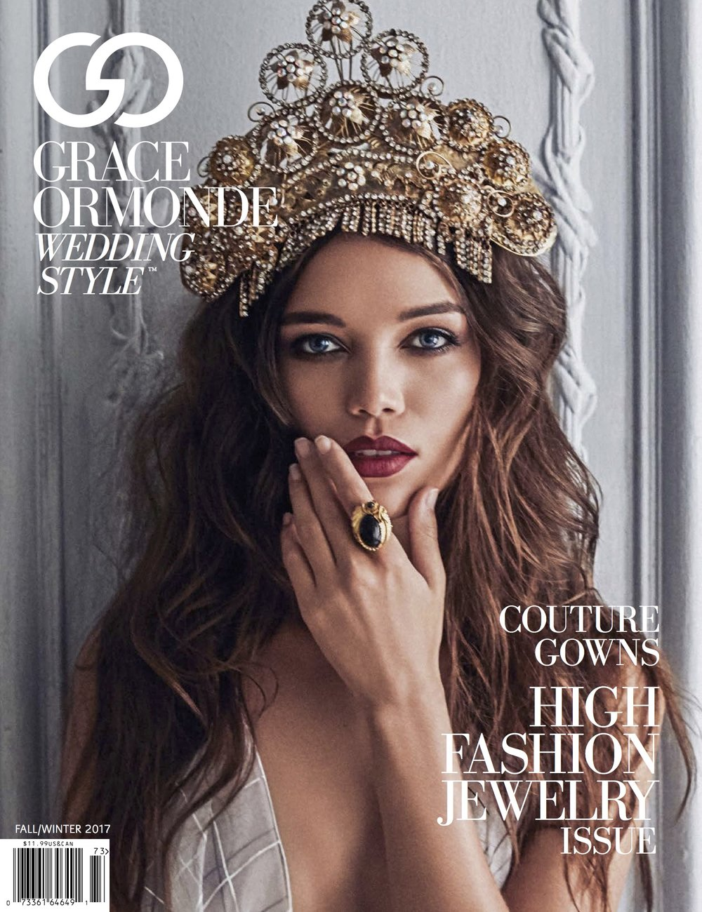 Grace Ormonde Magazine Fall 2017 cover