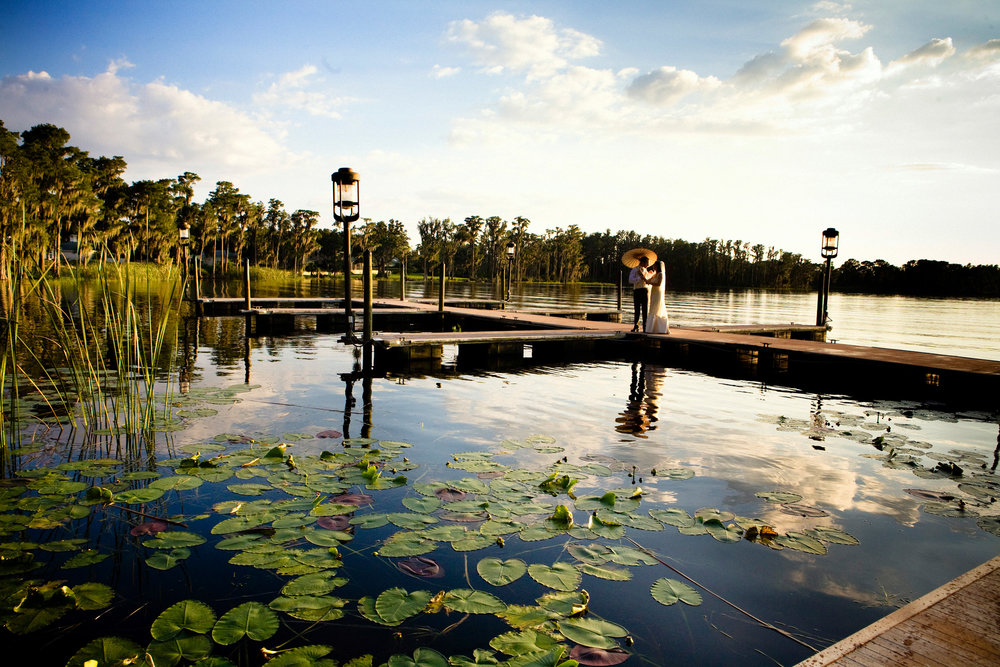 Wedding at The Isleworth  Golf & Country Club,  Florida -