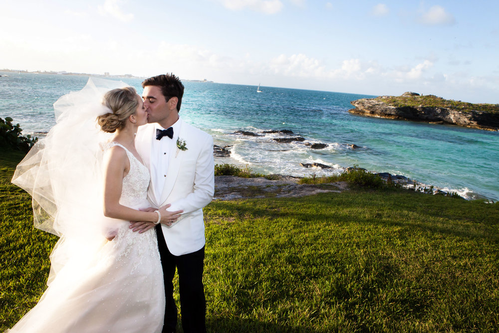 Wedding at the Hamilton Princess Resort in Bermuda -