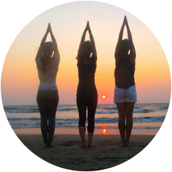 British Wheel of Yoga certified Hot Yoga Courses and workshops in Sidmouth East Devon by the beach