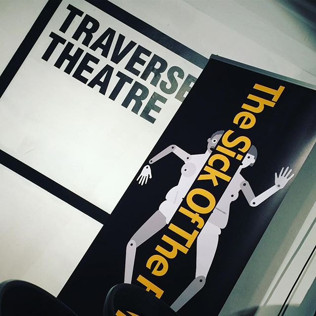 Adding a splash of #TSOTF16 at #traversetheatre #travfest16 today #producerslife #edfringe #edfringe16