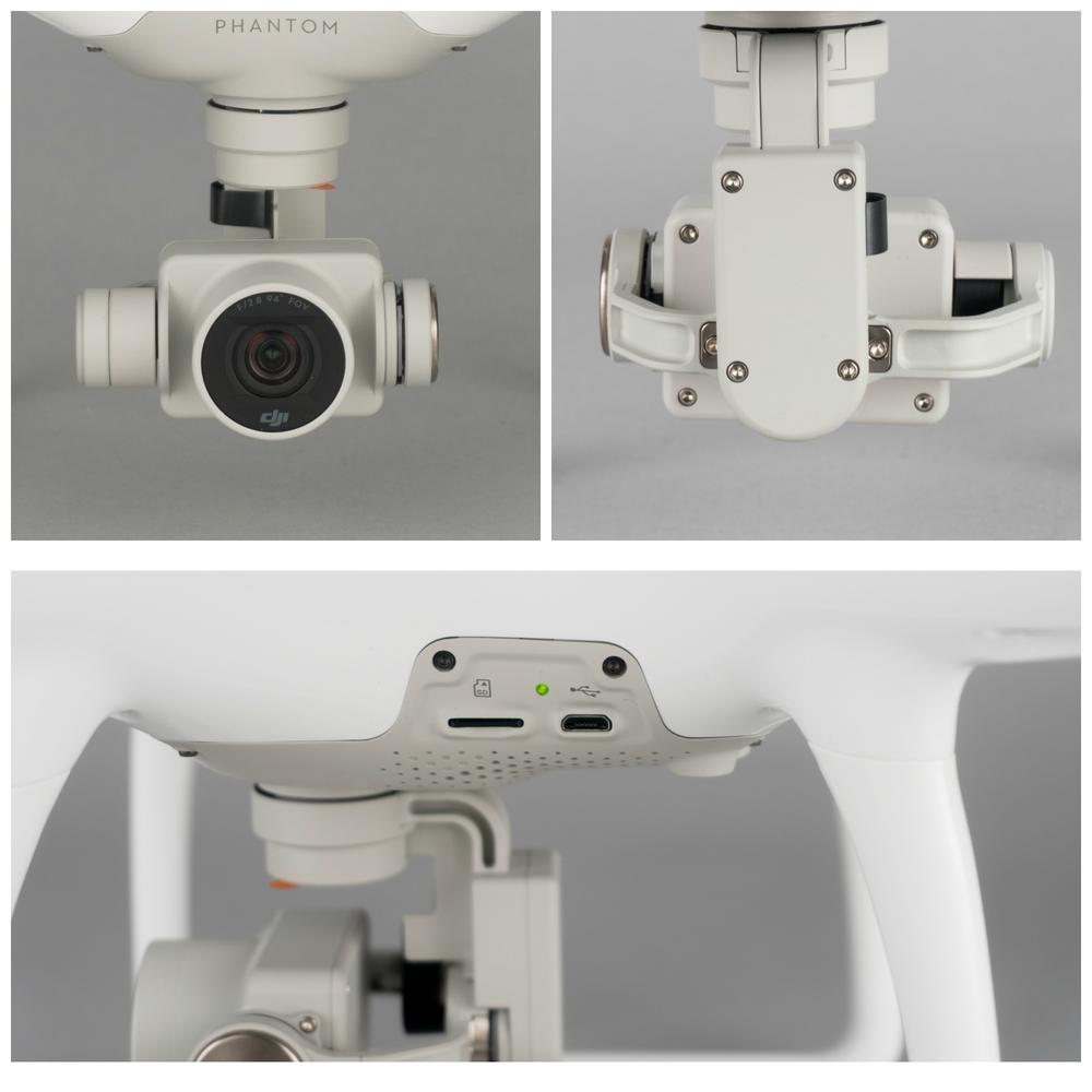 Phantom 4 Gimbal and Camera