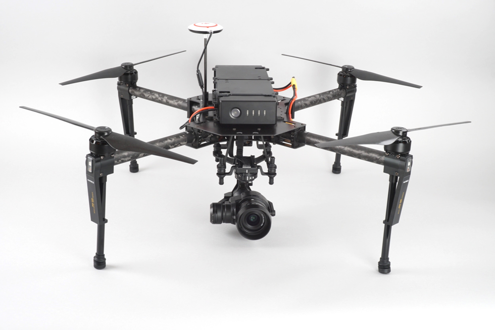 DJI Matrice 100 with Zenmuse X5