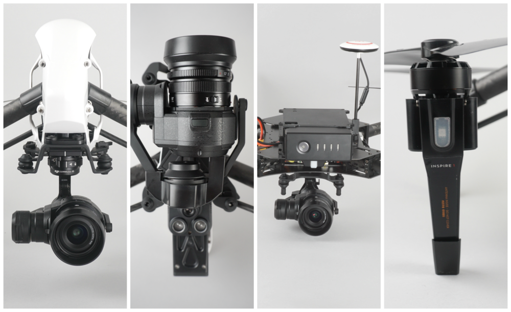 Inspire 1 Pro and the DJI Matrice 100