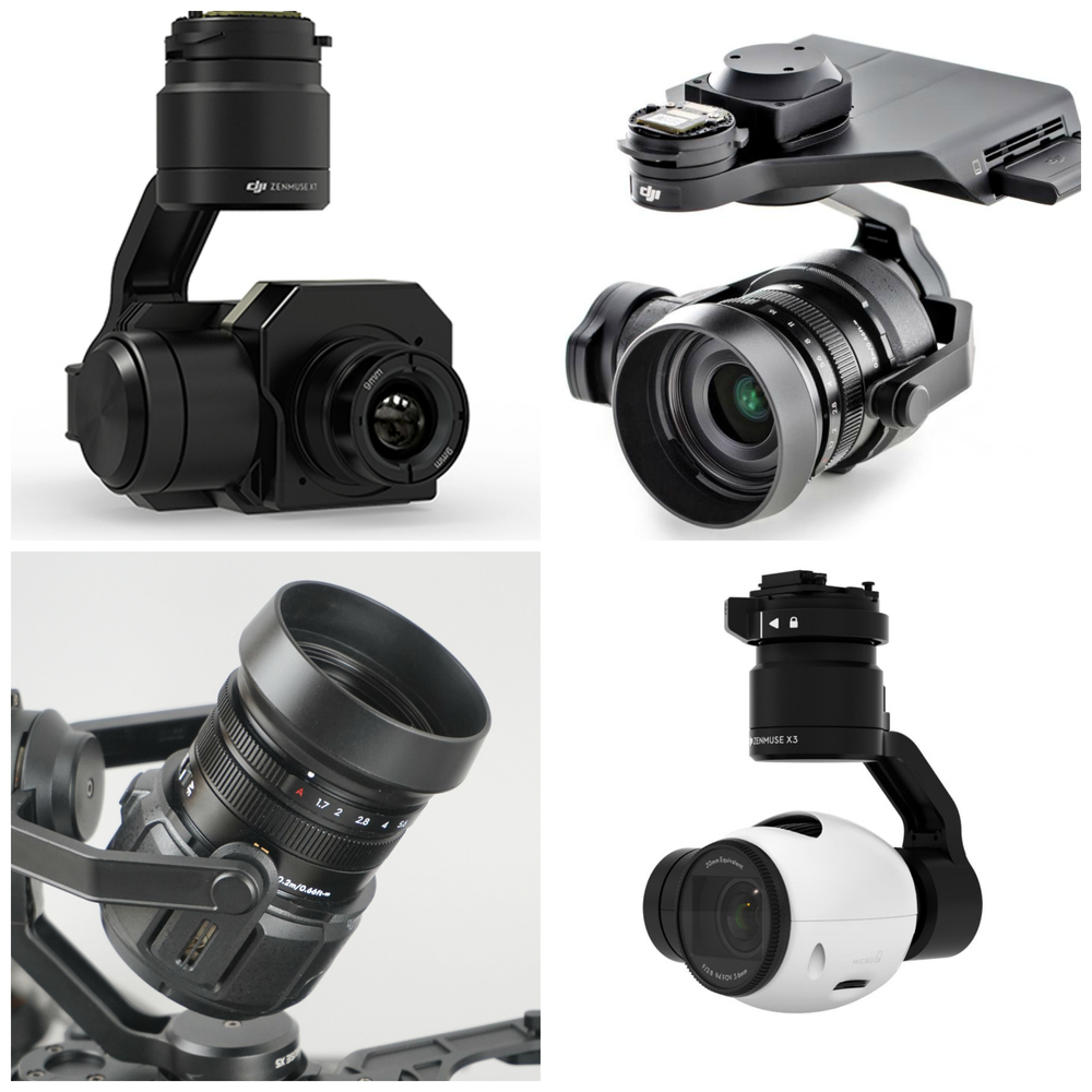 Zenmuse X series cameras