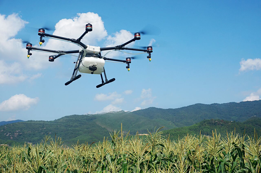 Drone usage in the Agriculture Sector