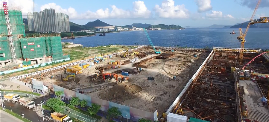 Drone Usage on a Construction Site