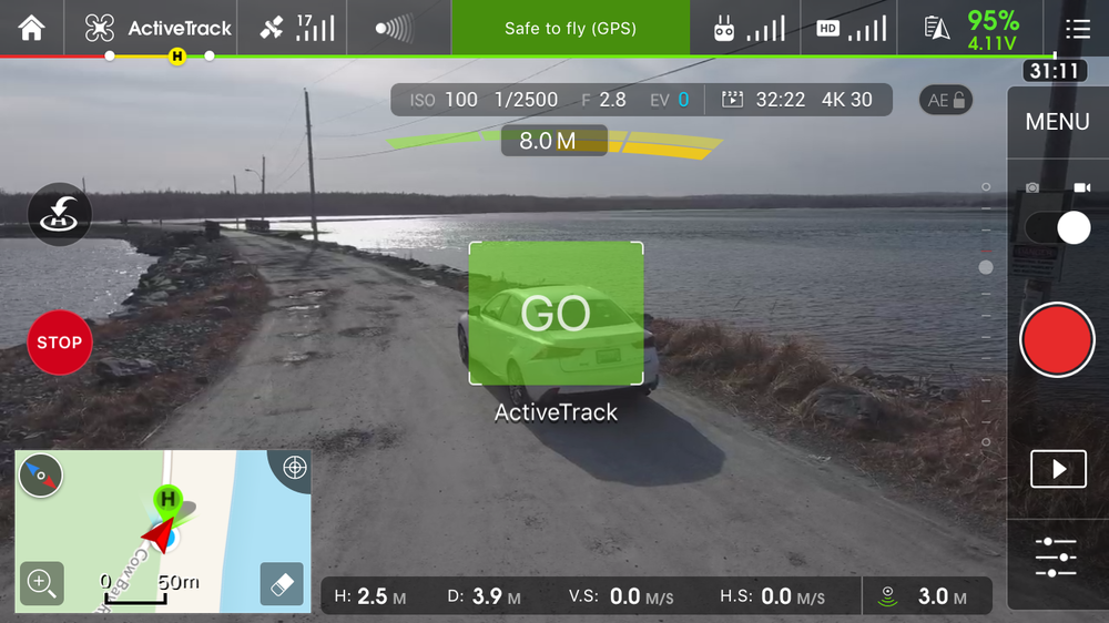ActiveTrack Phantom 4