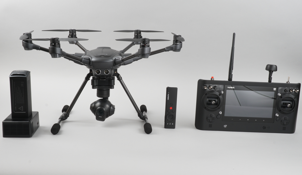 Typhoon 4 Package: Charger, Battery, Drone, Wizard Remote, Controller