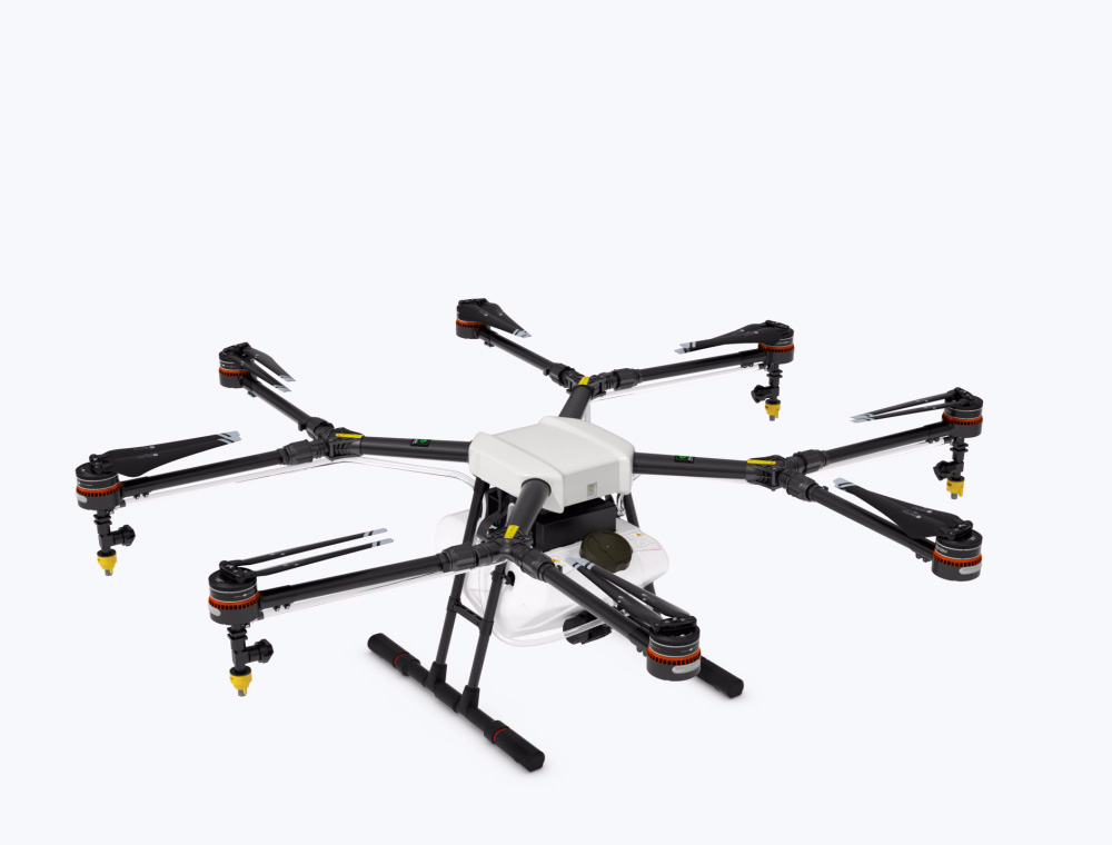 The DJI Agras MG-1 is DJI's first agriculture drone.