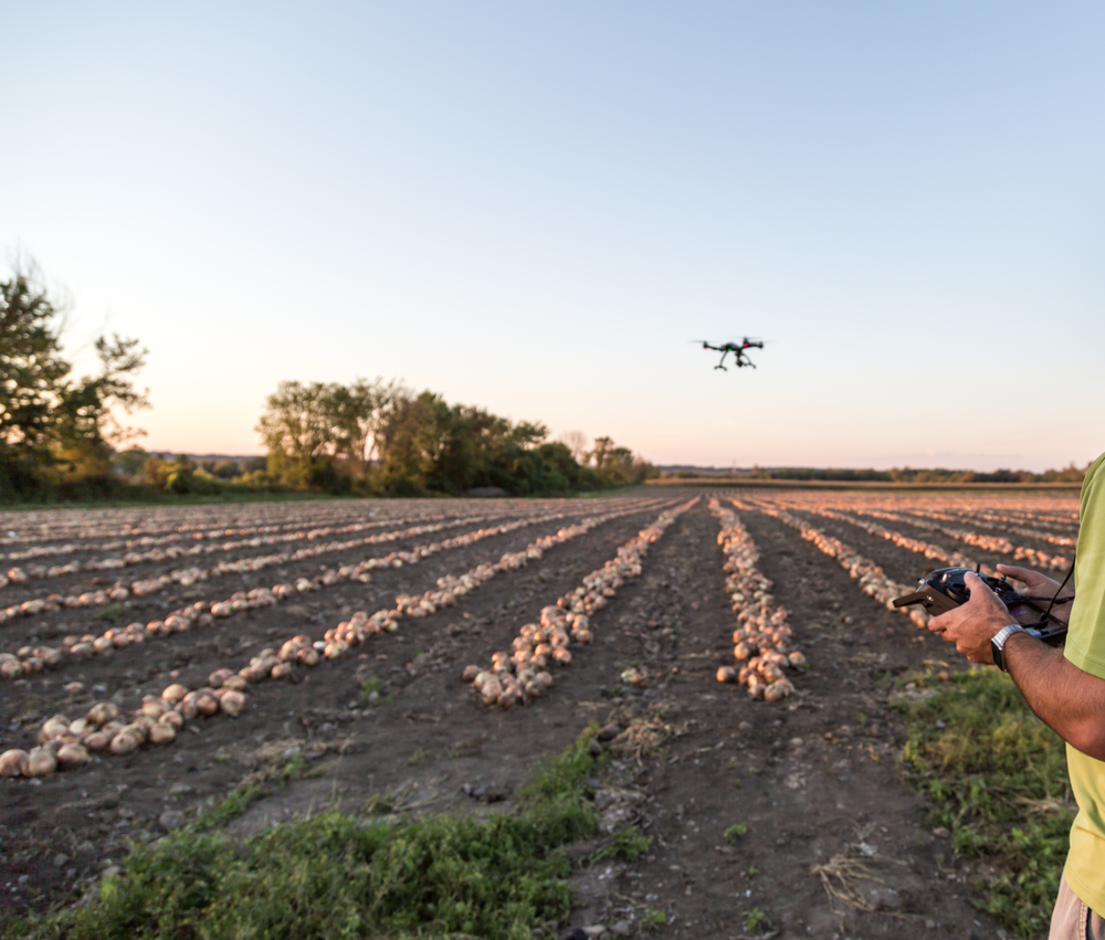 agriculture drone usage