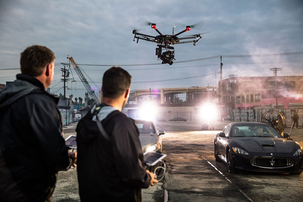 The DJI Matrice 600 is made for filmmakers and industry professionals.