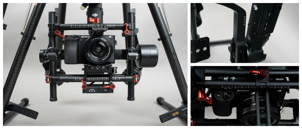 DJI Ronin MX Camera Mount with Sony α 6300