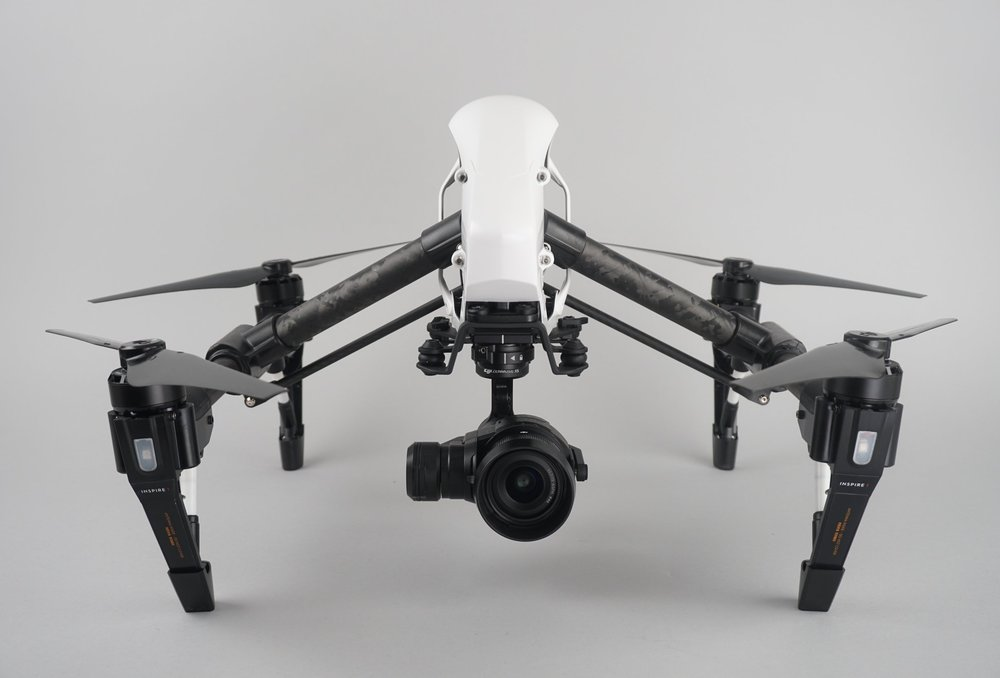 The Inspire 1 Pro was built to capture professional aerial photos