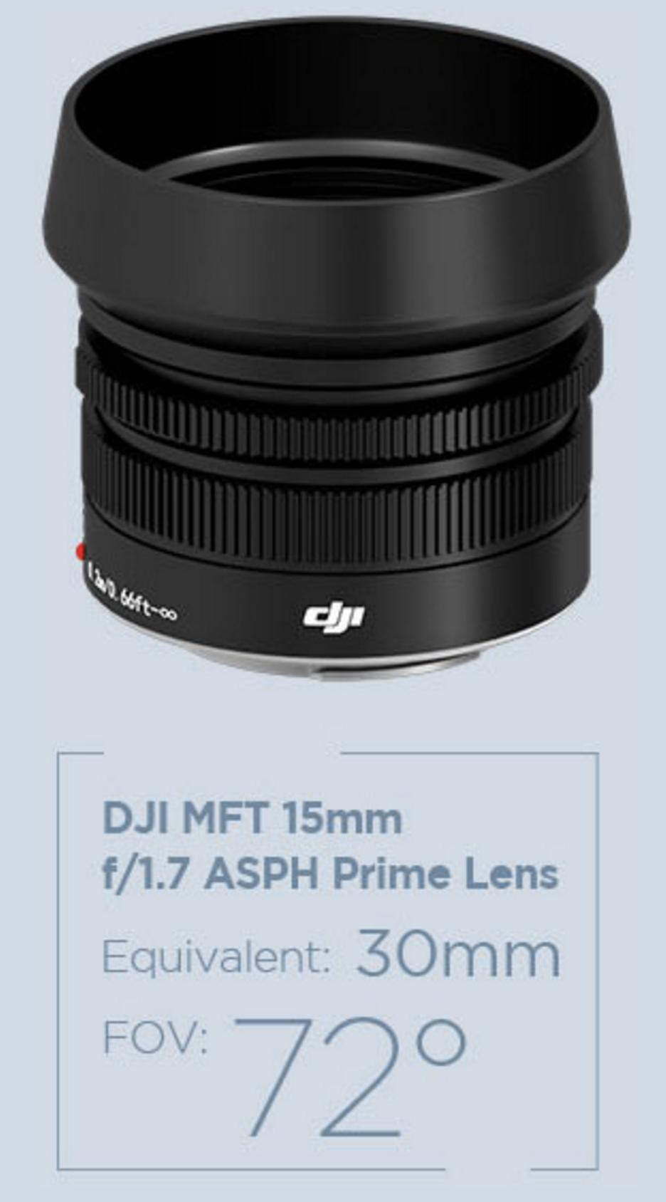 DJI MFT Lens