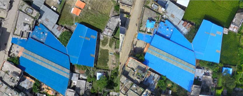 Users can get up-to-date maps of job sites. Courtesy of Pix4D