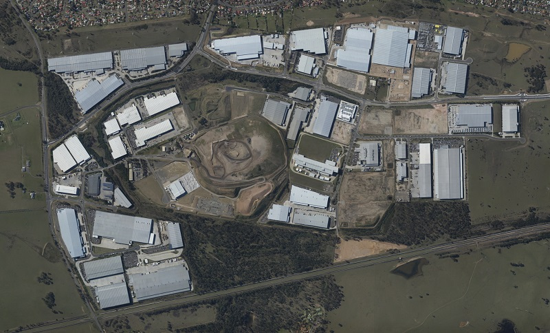 Imagery collected by a drone can create orthomosaics of potential developments. Courtesy of Pix4D