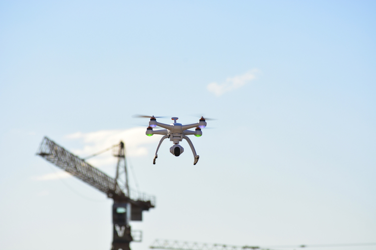 Drone users can collect elevation data, volumetric measurements, and create 3D maps for georeferencing