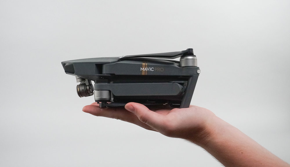 The DJI Mavic Pro is DJI's most innovative drone ever released