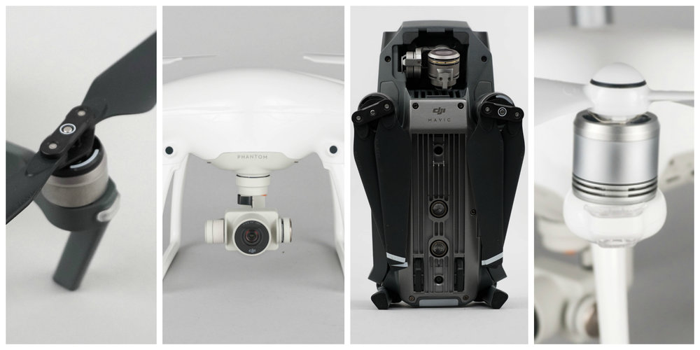 Mavic Pro vs Phantom 4