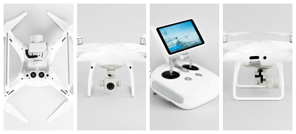 The DJI Phantom 4 Pro is designed to produce professional quality footage.