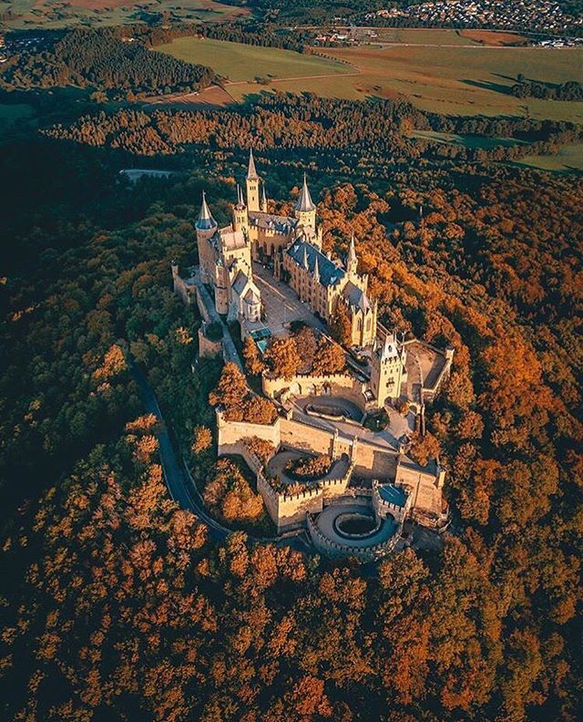 Hohenzollern Castle - Photo by @rubenvanvreckem #drdrone #dji #drones #djimavic #dronephotography #dronestagram #drone #dronefly #droneoftheday #aerial #uav #photography #photooftheday #instagood #instadaily #explore #travel #travelphotography #castle #cluff #forest #landscape #landscapephotography #halifax #novascotia #canada #ns