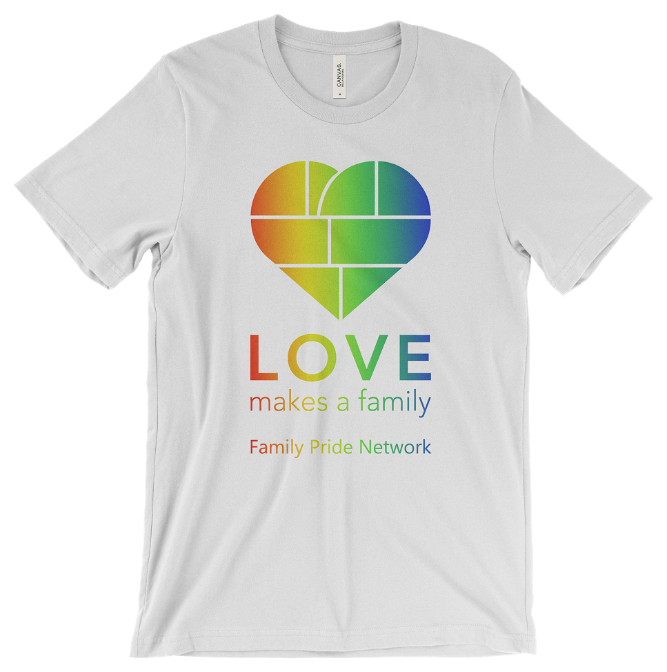 - Find the FPN booth to get your #LOVEMakesAFamily t-shirt or onesie! Youth sizes available!