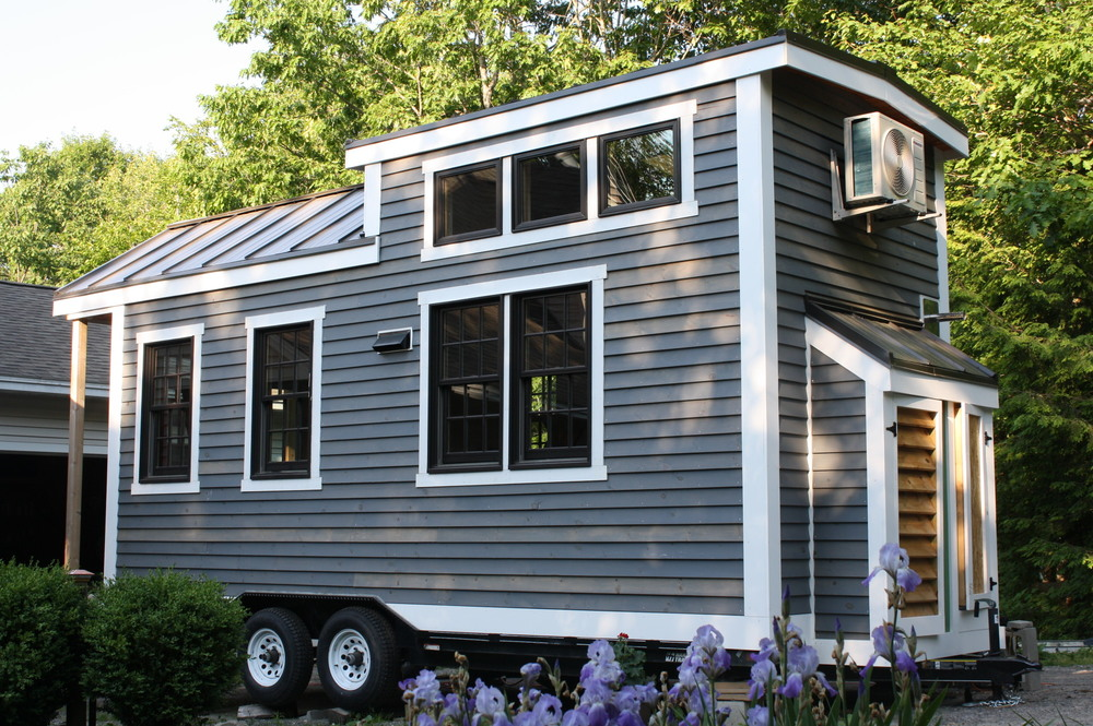 Tiny house floor plans tiny homes of maine for Maine home plans