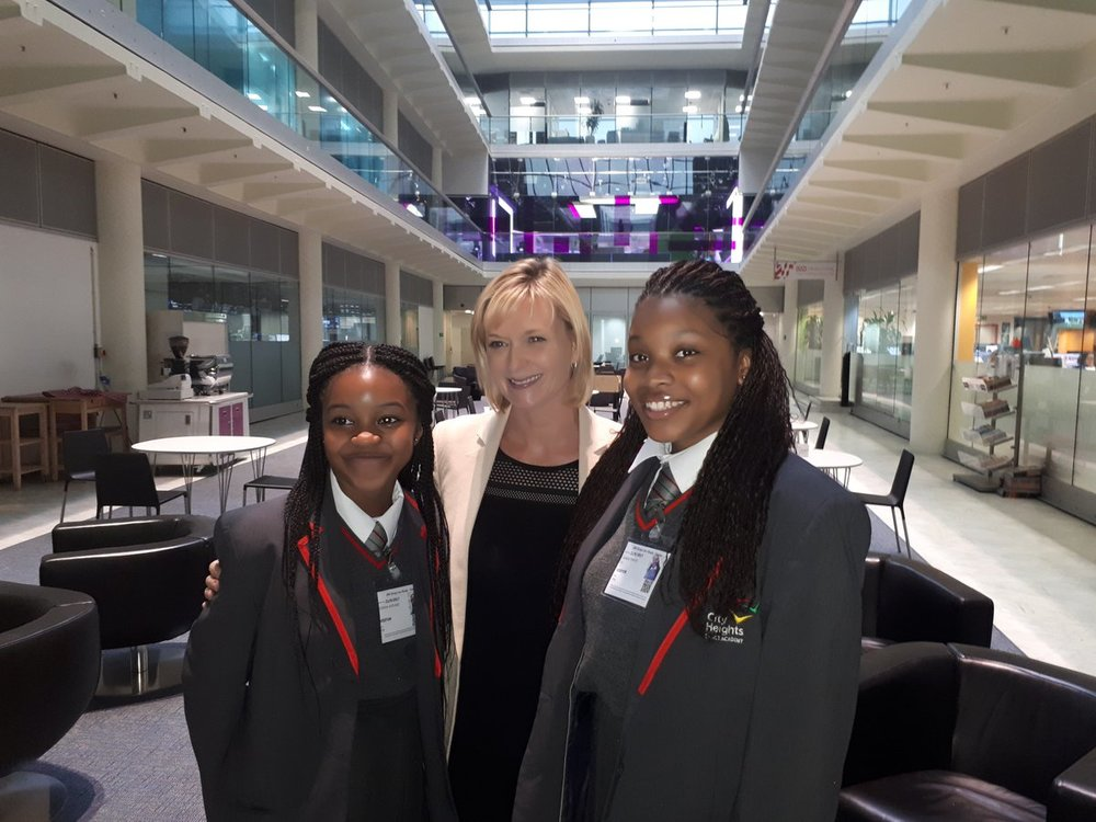 Julie Etchingham, Chisna and Shakai.jpg