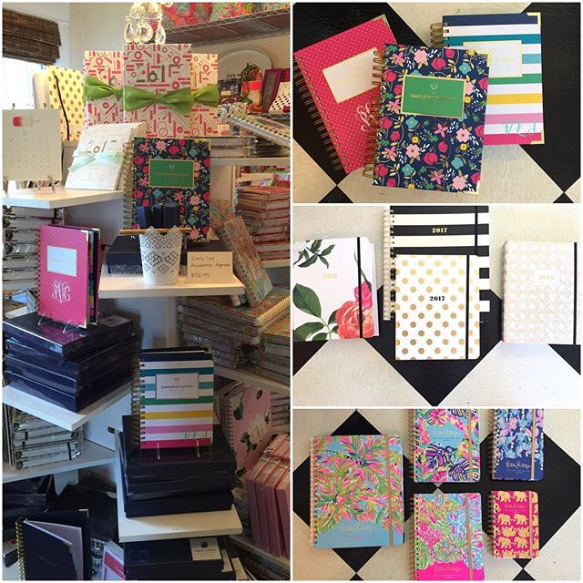 It's another school year! Keep it together with a great agenda. 20% off the week of August 15th -our gift to you. 1026 S. Florida Ave #lillypulitzer #agenda #katespade #riflepaperco #getittogether #keepittogether
