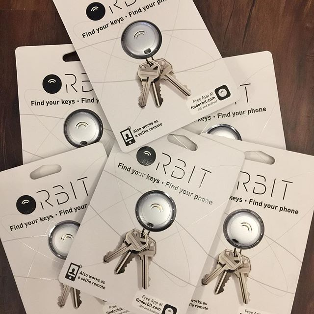 Did Santa forget the keys to your new car? Find them with the help of the newly arrived Orbit! #orbit #findyourkeys #findyourphone