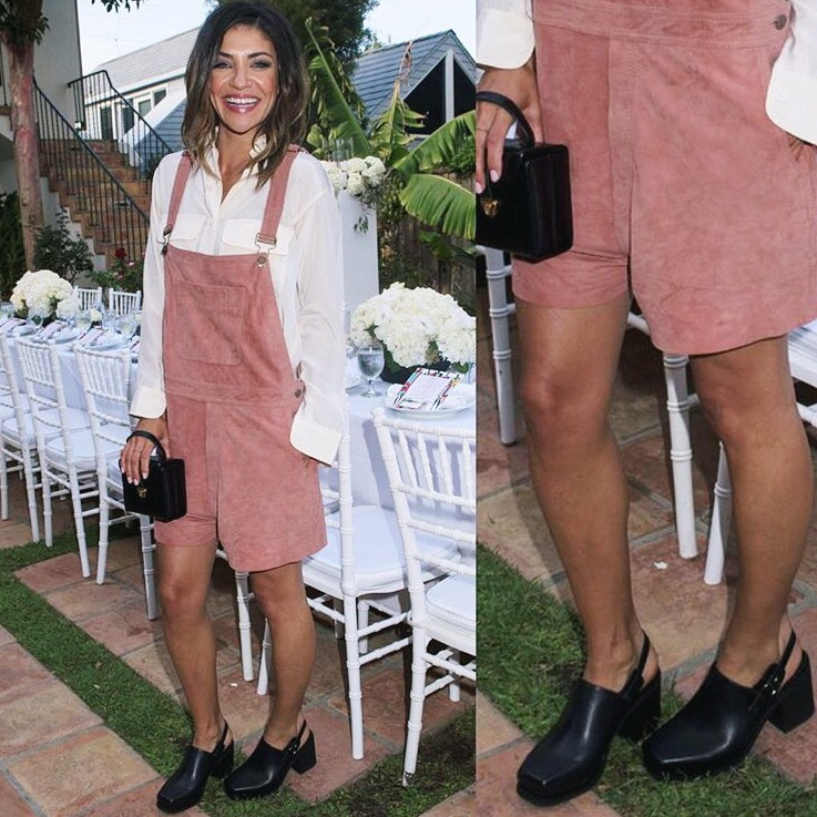 Jessica Zohr wearing                    Intentionally Blank