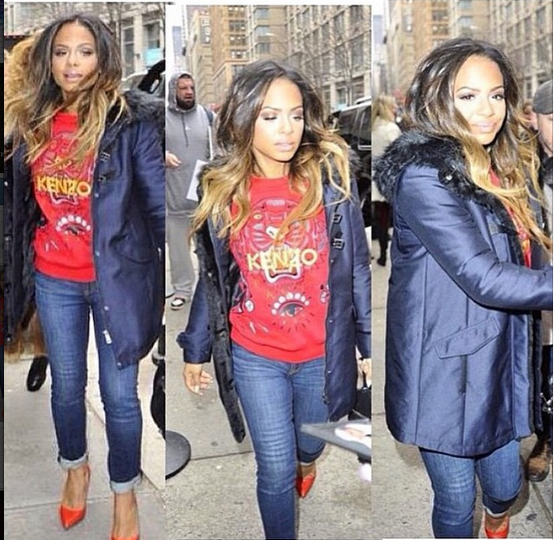 Christina Milian out in                  Articles of Society