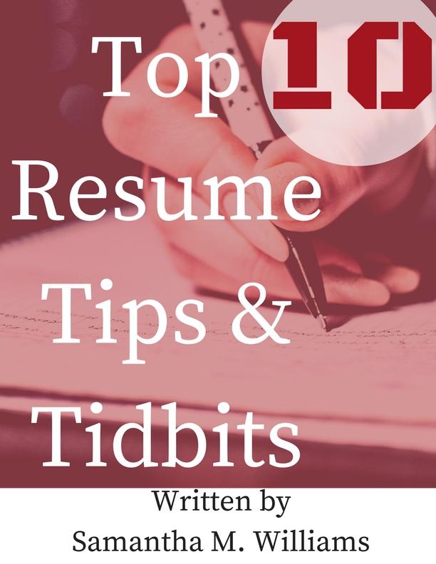 top 10 resume tips sam s word llc