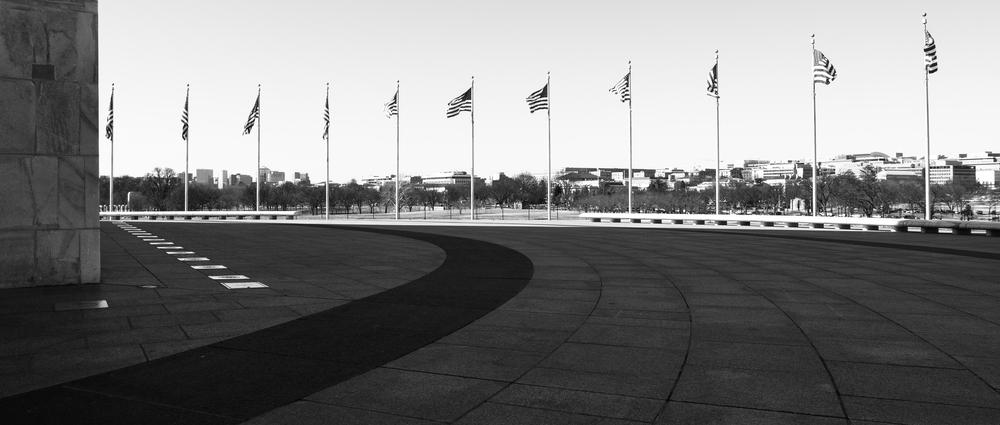 Flags of the Washington Memorial