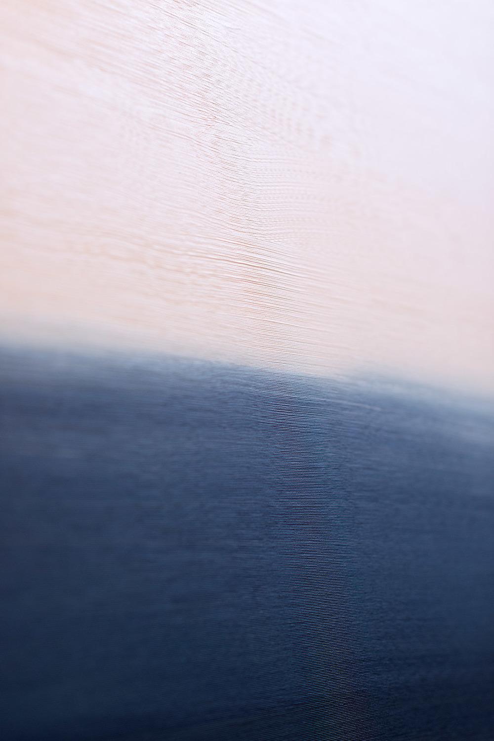 Utsnitt fra  Running to the Sea , malt på Ekely