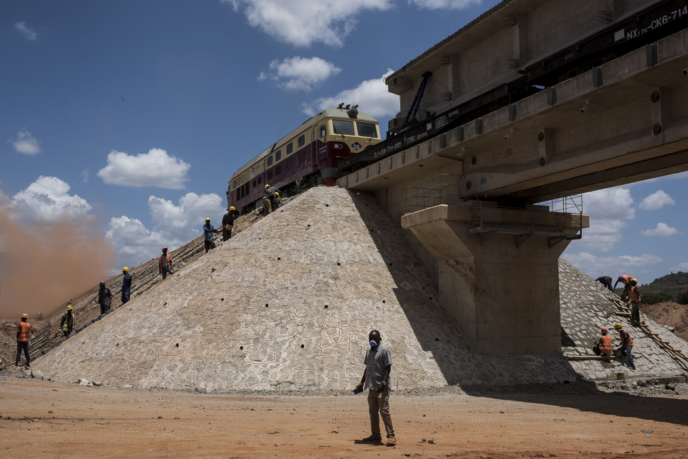 Kenya's Problematic New Railway for National Geographic
