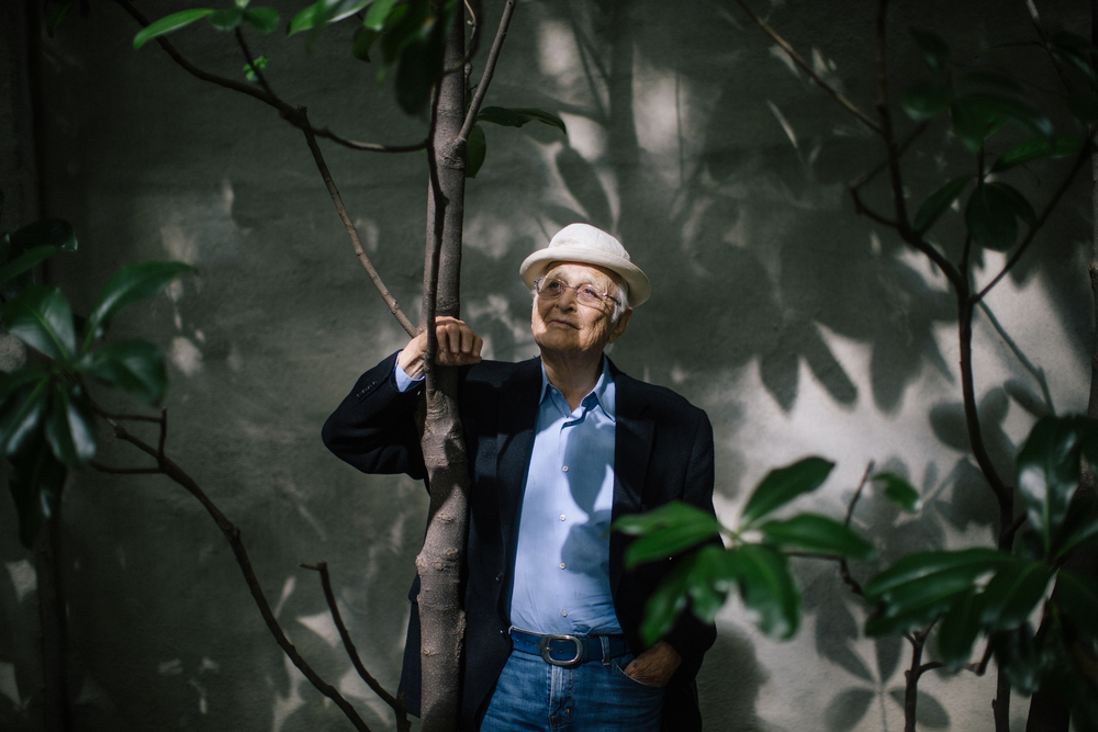 Television writer and producer Norman Lear, New York City, for The New York Times.