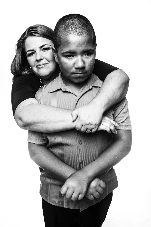 Camden activist Helene Pierson and godson Jorge Cartagena, personal work.