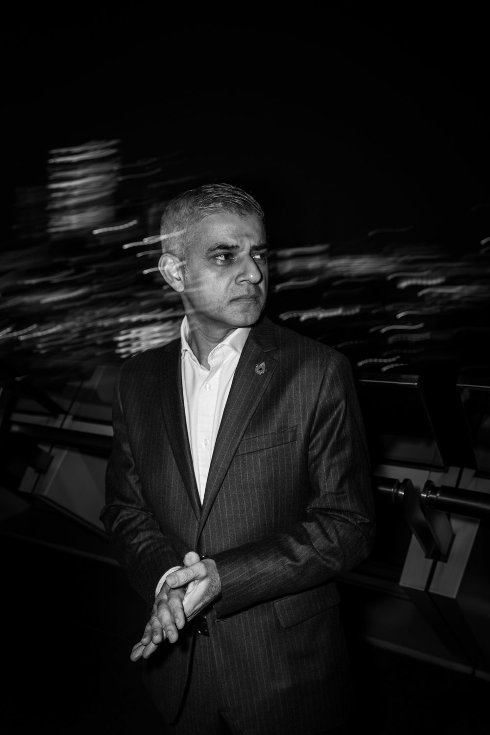 London Mayor Sadiq Khan, London City Hall, for Politico EU