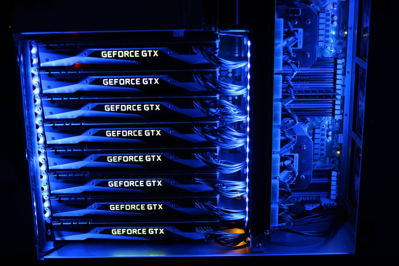 How to build a (2nd) 8 GPU password cracker — #_shellntel