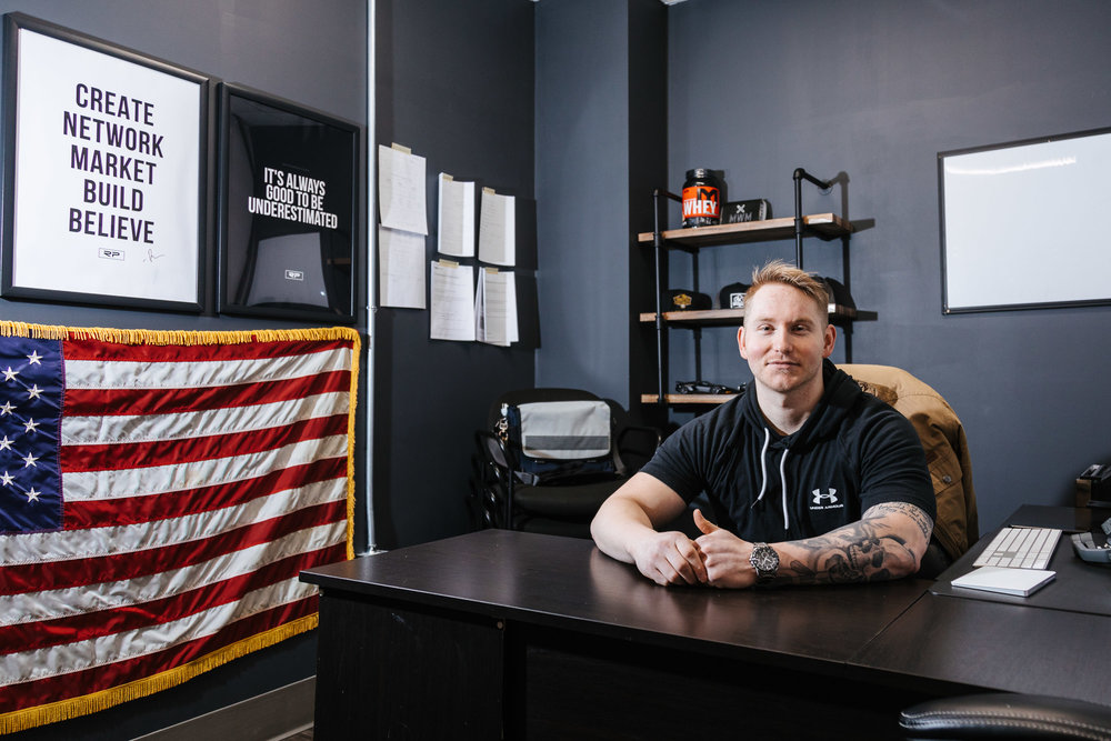 Daniel Beck owner of  Midwest Meals
