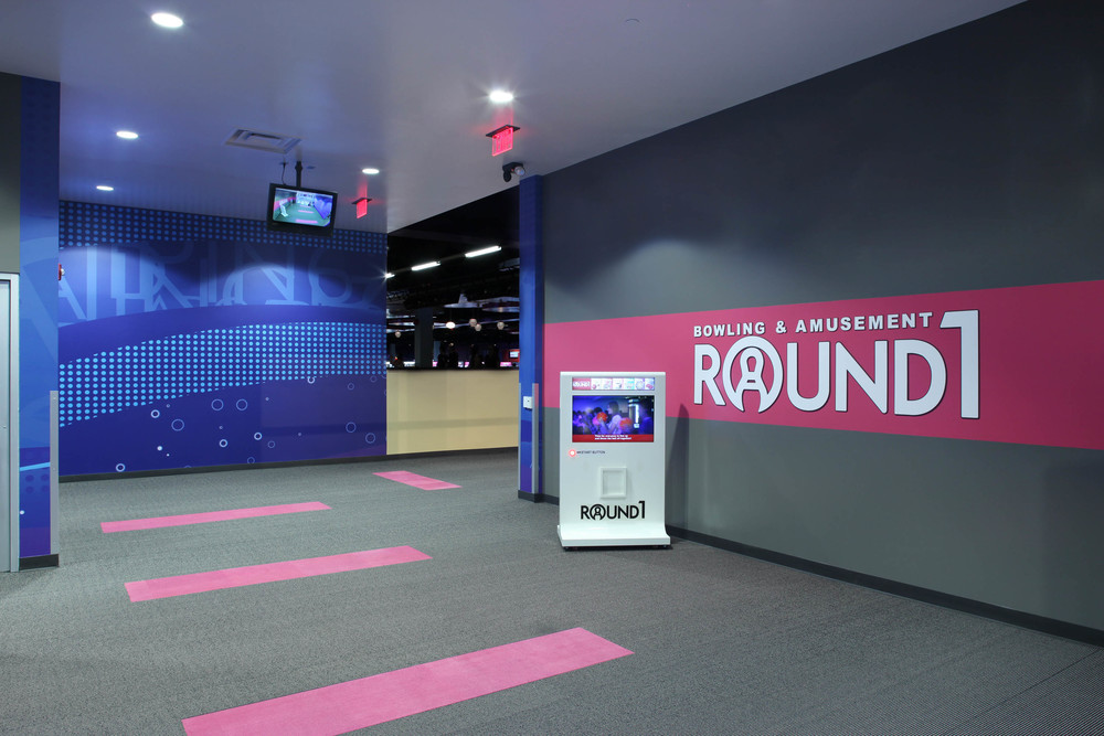 Round1 Bowling & Amusement Entrance
